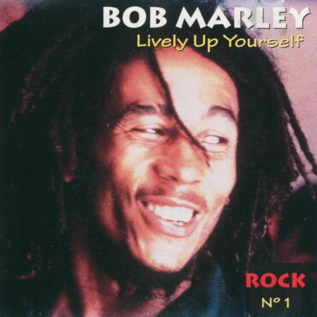 Bob Marley - Lively up yourself - Feras do Rock - 1994 - Arte