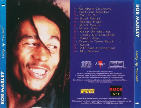 Bob Marley - Lively up yourself - Feras do Rock - 1994