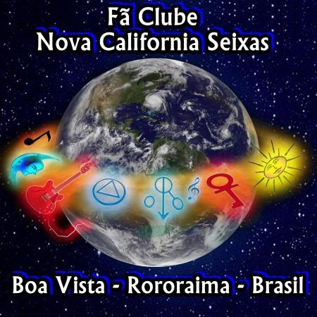 Logo Marca o Globo do Nova California Seixas - Criação de Sinka Seixas, Argeu California e Manoel Breack