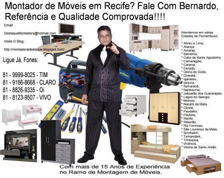 Bernardo Montador de Móveis em Recife