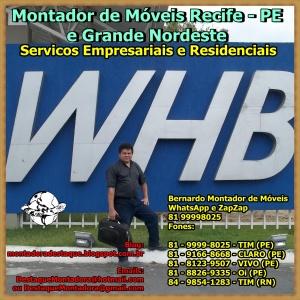 WHB Rodovia PE 50, KM 15, Glória do Goitá, Pernambuco - Brasil Montador de Móveis Recife - PE e Grande Nordeste WhatsApp 8199998025 013