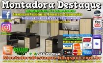 Montador de Móveis Bernardo do Recife PE e Grande Nordeste - MOBILIÁRIO CORPORATIVO - DESTAQUE MONTADORA - 002