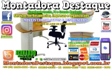 Montador de Móveis Bernardo do Recife PE e Grande Nordeste - MOBILIÁRIO CORPORATIVO - DESTAQUE MONTADORA - 007