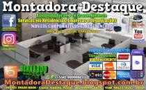 Montador de Móveis Bernardo do Recife PE e Grande Nordeste - MOBILIÁRIO CORPORATIVO - DESTAQUE MONTADORA - 011