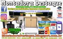 Montador de Móveis Bernardo do Recife PE e Grande Nordeste - MOBILIÁRIO CORPORATIVO - DESTAQUE MONTADORA - 014