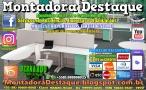 Montador de Móveis Bernardo do Recife PE e Grande Nordeste - MOBILIÁRIO CORPORATIVO - DESTAQUE MONTADORA - 025