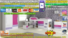 Montador de Móveis Bernardo do Recife PE e Grande Nordeste - MOBILIÁRIO CORPORATIVO E RESIDENCIAS - DESTAQUE MONTADORA - 005 - 1600x900