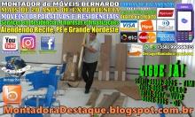 MONTADOR DE MÓVEIS BERNARDO WhatsApp +55 (81) 99999-8025 Móveis Corporativos e Residenciais - 08 - 2018036
