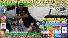 Montagem de Equipamentos de Musculação Para Academias e Residências em Recife, MONTADOR BERNARDO, WhatsApp +55 (81) 99999-8025 -20170912