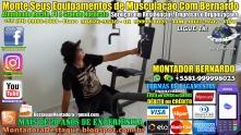 Montagem de Equipamentos de Musculação Para Academias e Residências em Recife, MONTADOR BERNARDO, WhatsApp +55 (81) 99999-8025 -20170916