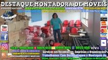 Montador de Móveis Olinda, Jaboatão, Recife, Camaragibe, Cabo, Paulista, Moreno, WhatsApp +55 (81) 99999-8025 - DESTAQUE MONTADORA - 002