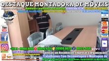 Montador de Móveis Olinda, Jaboatão, Recife, Camaragibe, Cabo, Paulista, Moreno, WhatsApp +55 (81) 99999-8025 - DESTAQUE MONTADORA - 003