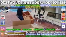 Montador de Móveis Olinda, Jaboatão, Recife, Camaragibe, Cabo, Paulista, Moreno, WhatsApp +55 (81) 99999-8025 - DESTAQUE MONTADORA - 011