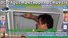 Montador de Móveis Olinda, Jaboatão, Recife, Camaragibe, Cabo, Paulista, Moreno, WhatsApp +55 (81) 99999-8025 - DESTAQUE MONTADORA - 033