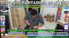 Montador de Móveis Olinda, Jaboatão, Recife, Camaragibe, Cabo, Paulista, Moreno, WhatsApp +55 (81) 99999-8025 - DESTAQUE MONTADORA - 035