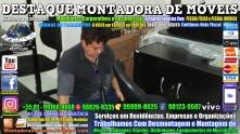Montador de Móveis Olinda, Jaboatão, Recife, Camaragibe, Cabo, Paulista, Moreno, WhatsApp +55 (81) 99999-8025 - DESTAQUE MONTADORA - 036