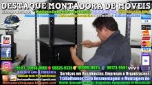 Montador de Móveis Olinda, Jaboatão, Recife, Camaragibe, Cabo, Paulista, Moreno, WhatsApp +55 (81) 99999-8025 - DESTAQUE MONTADORA - 037
