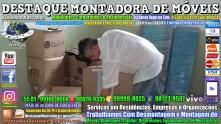 Montador de Móveis Olinda, Jaboatão, Recife, Camaragibe, Cabo, Paulista, Moreno, WhatsApp +55 (81) 99999-8025 - DESTAQUE MONTADORA - 049