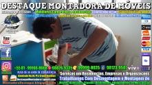Montador de Móveis Olinda, Jaboatão, Recife, Camaragibe, Cabo, Paulista, Moreno, WhatsApp +55 (81) 99999-8025 - DESTAQUE MONTADORA - 053