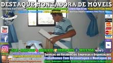 Montador de Móveis Olinda, Jaboatão, Recife, Camaragibe, Cabo, Paulista, Moreno, WhatsApp +55 (81) 99999-8025 - DESTAQUE MONTADORA - 056