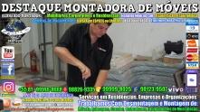 Montador de Móveis Olinda, Jaboatão, Recife, Camaragibe, Cabo, Paulista, Moreno, WhatsApp +55 (81) 99999-8025 - DESTAQUE MONTADORA - 063