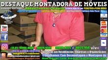 Montador de Móveis Olinda, Jaboatão, Recife, Camaragibe, Cabo, Paulista, Moreno, WhatsApp +55 (81) 99999-8025 - DESTAQUE MONTADORA - 066