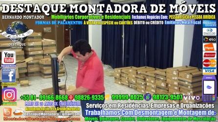 Montador de Móveis Olinda, Jaboatão, Recife, Camaragibe, Cabo, Paulista, Moreno, WhatsApp +55 (81) 99999-8025 - DESTAQUE MONTADORA - 078