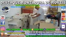 Montador de Móveis Olinda, Jaboatão, Recife, Camaragibe, Cabo, Paulista, Moreno, WhatsApp +55 (81) 99999-8025 - DESTAQUE MONTADORA - 079