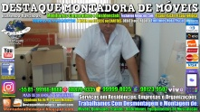 Montador de Móveis Olinda, Jaboatão, Recife, Camaragibe, Cabo, Paulista, Moreno, WhatsApp +55 (81) 99999-8025 - DESTAQUE MONTADORA - 083