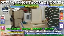 Montador de Móveis Olinda, Jaboatão, Recife, Camaragibe, Cabo, Paulista, Moreno, WhatsApp +55 (81) 99999-8025 - DESTAQUE MONTADORA - 089
