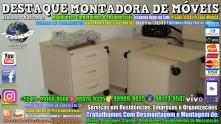 Montador de Móveis Olinda, Jaboatão, Recife, Camaragibe, Cabo, Paulista, Moreno, WhatsApp +55 (81) 99999-8025 - DESTAQUE MONTADORA - 093