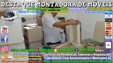 Montador de Móveis Olinda, Jaboatão, Recife, Camaragibe, Cabo, Paulista, Moreno, WhatsApp +55 (81) 99999-8025 - DESTAQUE MONTADORA - 095