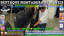 Montador de Móveis Olinda, Jaboatão, Recife, Camaragibe, Cabo, Paulista, Moreno, WhatsApp +55 (81) 99999-8025 - DESTAQUE MONTADORA - 100
