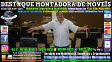Montador de Móveis Olinda, Jaboatão, Recife, Camaragibe, Cabo, Paulista, Moreno, WhatsApp +55 (81) 99999-8025 - DESTAQUE MONTADORA - 102