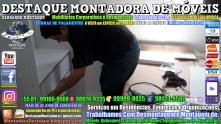 Montador de Móveis Olinda, Jaboatão, Recife, Camaragibe, Cabo, Paulista, Moreno, WhatsApp +55 (81) 99999-8025 - DESTAQUE MONTADORA - 109