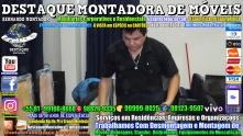 Montador de Móveis Olinda, Jaboatão, Recife, Camaragibe, Cabo, Paulista, Moreno, WhatsApp +55 (81) 99999-8025 - DESTAQUE MONTADORA - 112
