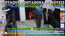 Montador de Móveis Olinda, Jaboatão, Recife, Camaragibe, Cabo, Paulista, Moreno, WhatsApp +55 (81) 99999-8025 - DESTAQUE MONTADORA - 114