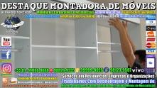 Montador de Móveis Olinda, Jaboatão, Recife, Camaragibe, Cabo, Paulista, Moreno, WhatsApp +55 (81) 99999-8025 - DESTAQUE MONTADORA - 115
