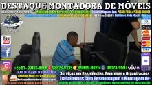 Montador de Móveis Olinda, Jaboatão, Recife, Camaragibe, Cabo, Paulista, Moreno, WhatsApp +55 (81) 99999-8025 - DESTAQUE MONTADORA - 118