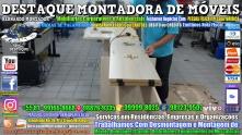 Montador de Móveis Olinda, Jaboatão, Recife, Camaragibe, Cabo, Paulista, Moreno, WhatsApp +55 (81) 99999-8025 - DESTAQUE MONTADORA - 123