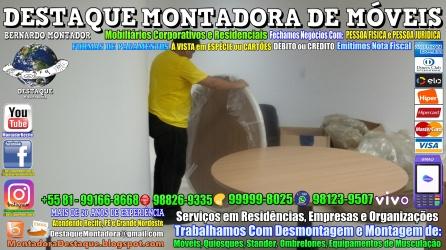 Montador de Móveis Olinda, Jaboatão, Recife, Camaragibe, Cabo, Paulista, Moreno, WhatsApp +55 (81) 99999-8025 - DESTAQUE MONTADORA - 144