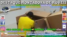 Montador de Móveis Olinda, Jaboatão, Recife, Camaragibe, Cabo, Paulista, Moreno, WhatsApp +55 (81) 99999-8025 - DESTAQUE MONTADORA - 154