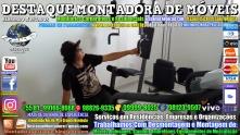 Montador de Móveis Olinda, Jaboatão, Recife, Camaragibe, Cabo, Paulista, Moreno, WhatsApp +55 (81) 99999-8025 - DESTAQUE MONTADORA - 165