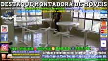Montador de Móveis Olinda, Jaboatão, Recife, Camaragibe, Cabo, Paulista, Moreno, WhatsApp +55 (81) 99999-8025 - DESTAQUE MONTADORA - 173