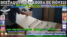 Montador de Móveis Olinda, Jaboatão, Recife, Camaragibe, Cabo, Paulista, Moreno, WhatsApp +55 (81) 99999-8025 - DESTAQUE MONTADORA - 179