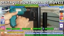 Montador de Móveis Olinda, Jaboatão, Recife, Camaragibe, Cabo, Paulista, Moreno, WhatsApp +55 (81) 99999-8025 - DESTAQUE MONTADORA - 180