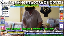 Montador de Móveis Olinda, Jaboatão, Recife, Camaragibe, Cabo, Paulista, Moreno, WhatsApp +55 (81) 99999-8025 - DESTAQUE MONTADORA - 195