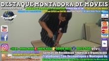 Montador de Móveis Olinda, Jaboatão, Recife, Camaragibe, Cabo, Paulista, Moreno, WhatsApp +55 (81) 99999-8025 - DESTAQUE MONTADORA - 198