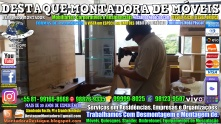 Montador de Móveis Olinda, Jaboatão, Recife, Camaragibe, Cabo, Paulista, Moreno, WhatsApp +55 (81) 99999-8025 - DESTAQUE MONTADORA - 199