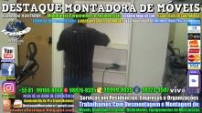 Montador de Móveis Olinda, Jaboatão, Recife, Camaragibe, Cabo, Paulista, Moreno, WhatsApp +55 (81) 99999-8025 - DESTAQUE MONTADORA - 200